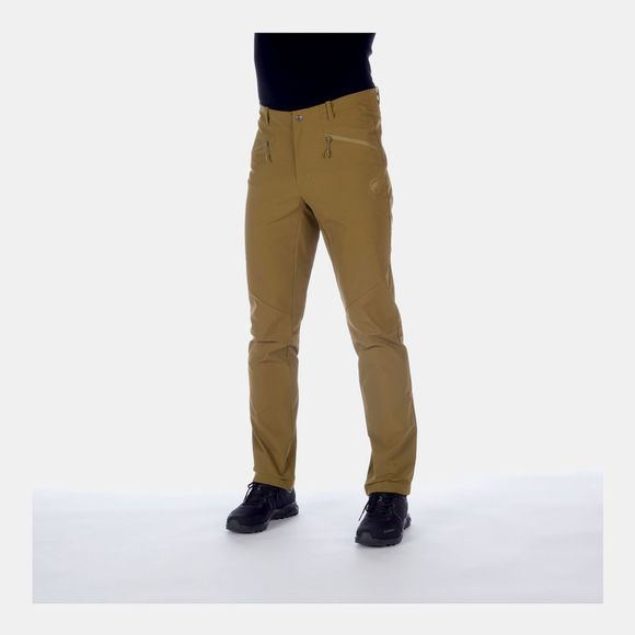 Mammut Mens Macun SO Pants Olive
