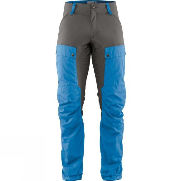 Fjallraven Mens Keb Trousers UN Bleue / Stone Grey