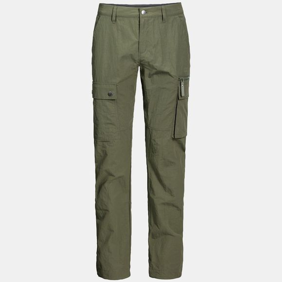 Jack Wolfskin Mens Lakeside Pants Woodland Green