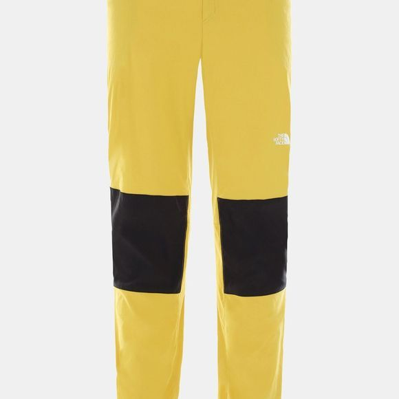 The North Face Men's Climb Pant Bamboo Yellow/Tnf Black
