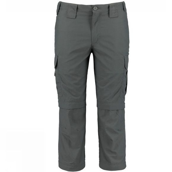 Ayacucho Mens Altay Double Zip Off Trousers Dark Grey