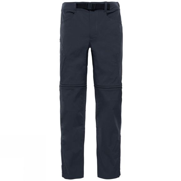 The North Face Mens Straight Paramount 3.0 Convertible Trousers Asphalt Grey