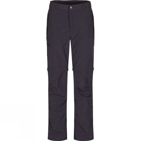 Regatta Mens Leesville Zip Off Trousers Ash