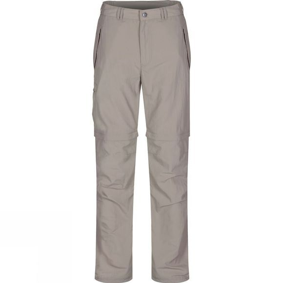 Regatta Mens Leesville Zip Off Trousers Parchment