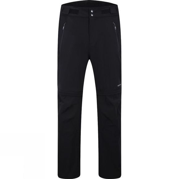 Skogstad Mens Mannsberg Leisure Zip Off Trousers Black