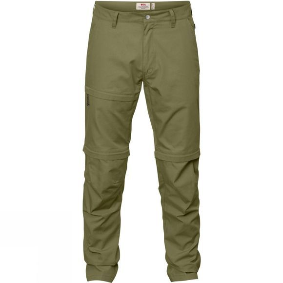 Fjallraven Mens Traveller Zip-Off Trousers Savanna