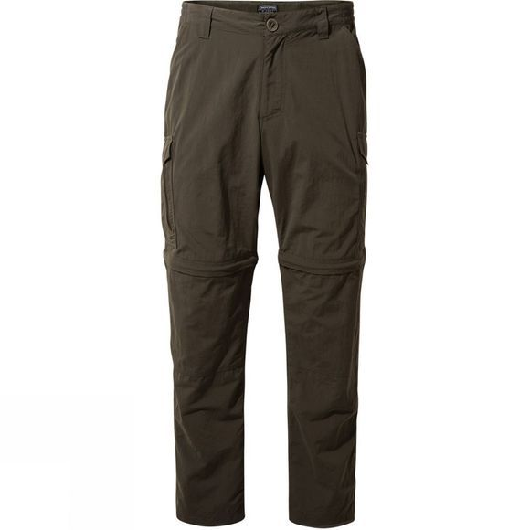 Craghoppers Mens NosiLife Convertible Trousers Woodland Green