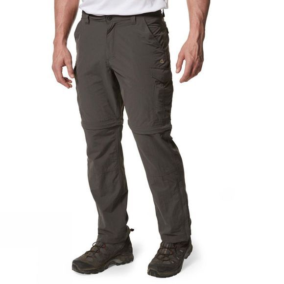 Craghoppers Mens NosiLife Convertible Trousers Bark