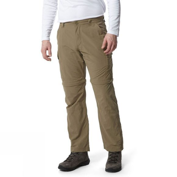 Craghoppers Mens NosiLife Convertible Trousers Pebble