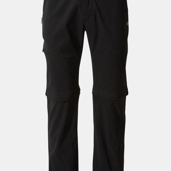 Craghoppers Mens Kiwi Pro II Convertible Trouser Black