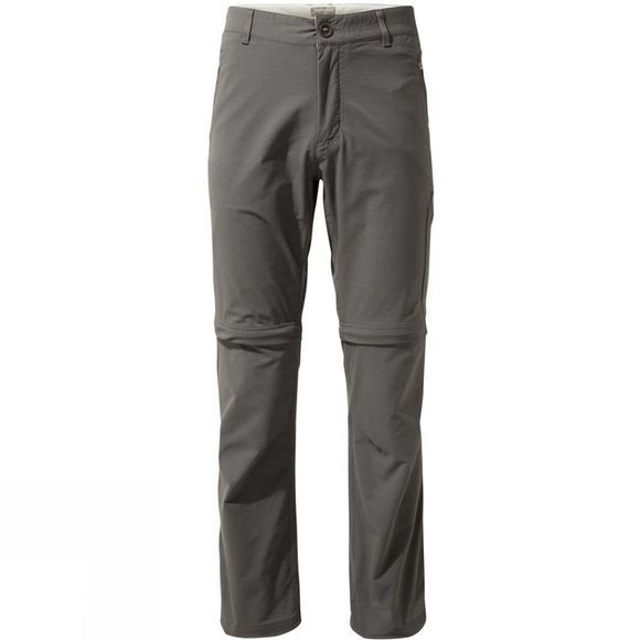 Craghoppers Mens NosiLife Pro Convertible II Trouser Elephant