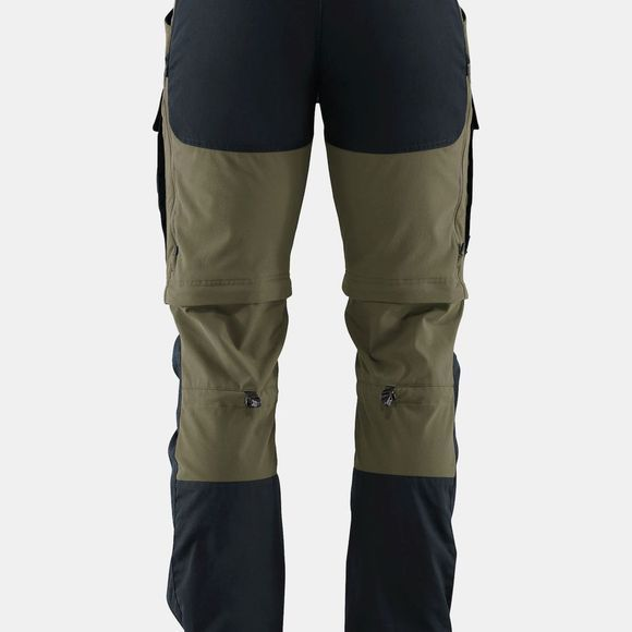 Fjallraven Men's Keb Gaiter Trousers Dark Navy-Light Olive