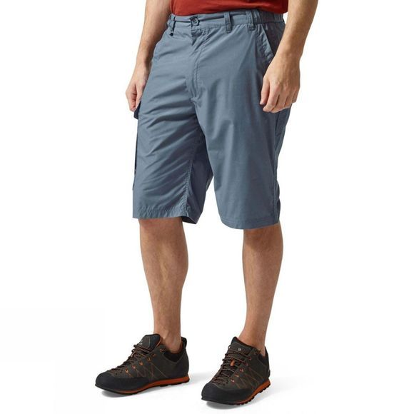 Craghoppers Mens Kiwi Long Shorts Ocean Blue