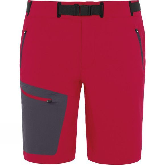 Vaude Mens Badile Shorts Indian Red
