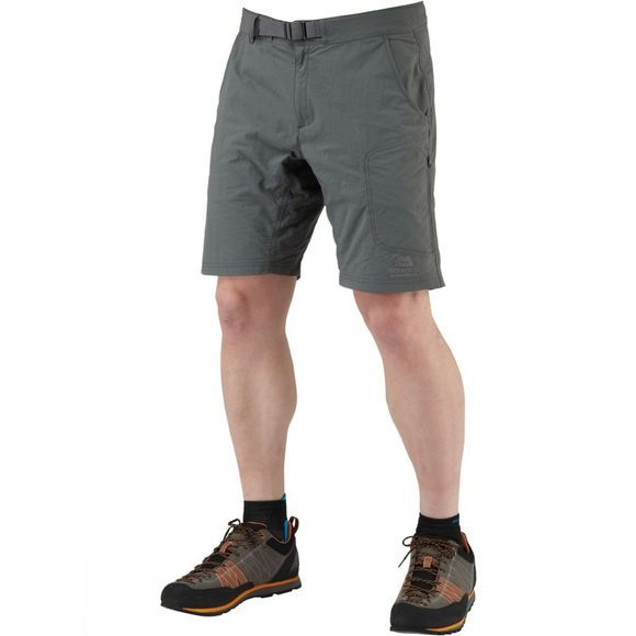 Mountain Equipment Mens Approach Shorts Shadow Grey