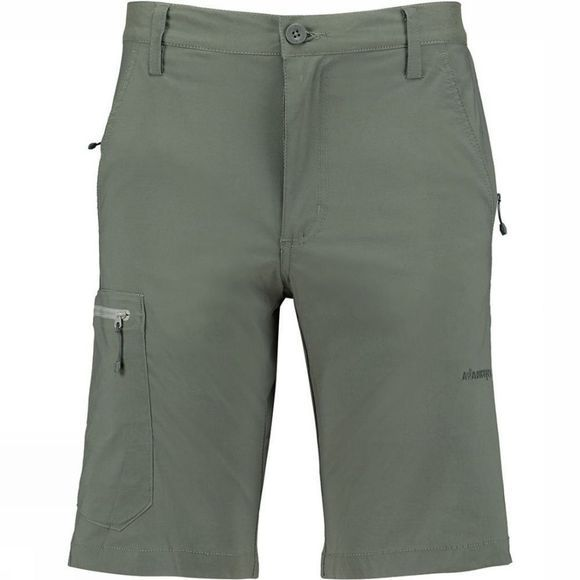 Ayacucho Mens Equator Stretch Anti Mosquito Shorts Dark Grey