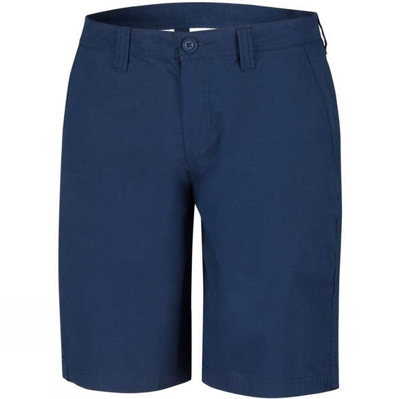 Columbia Mens Washed Out Shorts Collegiate Navy