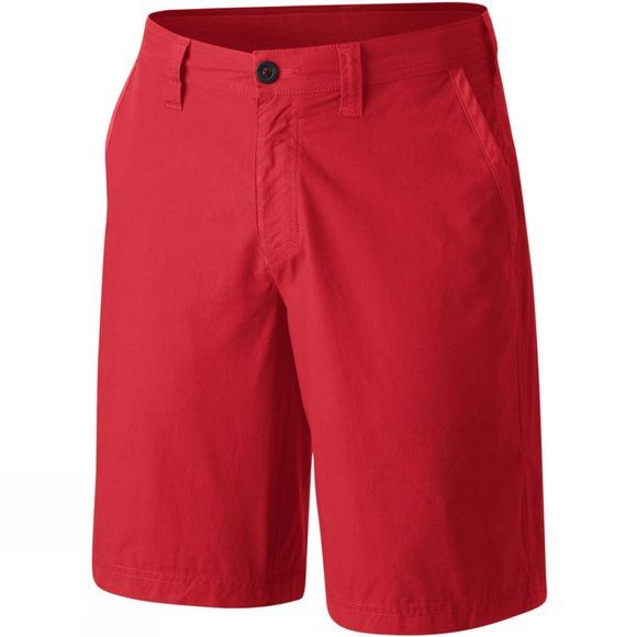 Columbia Mens Washed Out Shorts Red Spark