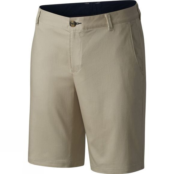 Columbia Mens Harborside Chino Shorts Fossil / Collegiate Navy