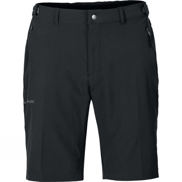 Vaude Mens Farley Stretch Bermuda Shorts Black