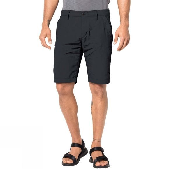 Jack Wolfskin Mens Desert Valley Shorts Phantom
