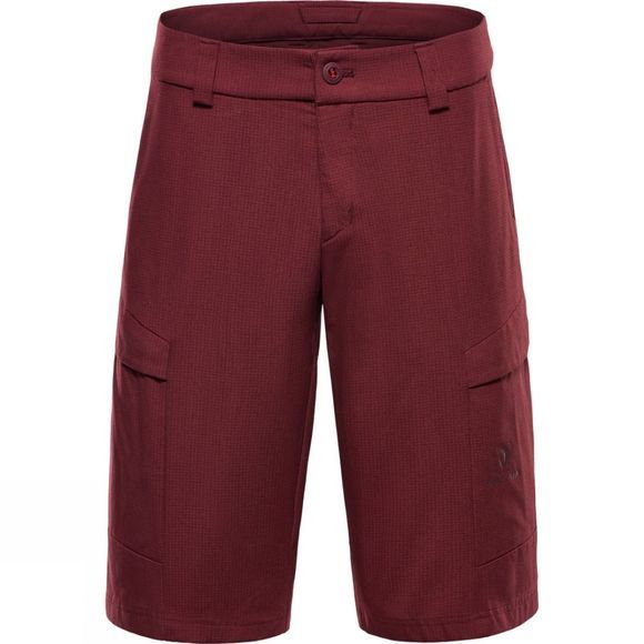 BlackYak Mens Ripstop Reinforcement Shorts Red Mahogany