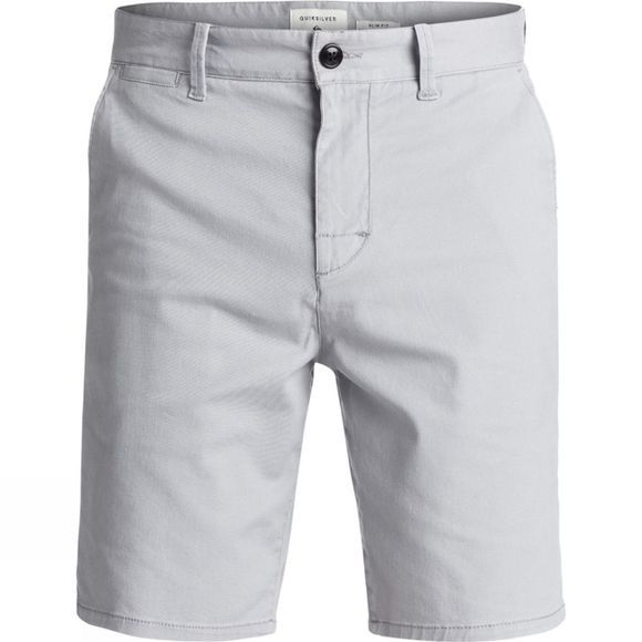 Quiksilver Mens Krandy St Chino Shorts Sleet