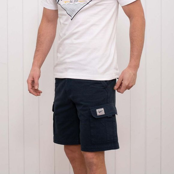 Brakeburn Mens Cargo Shorts NAVY