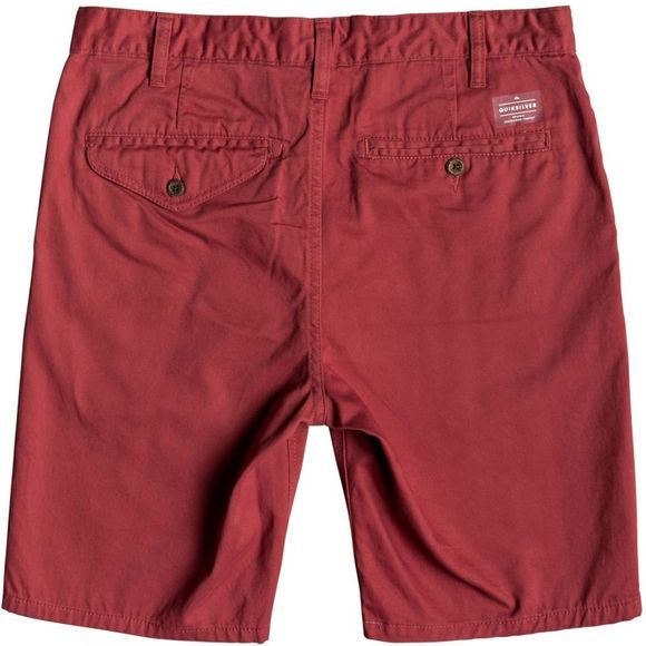 Quiksilver Mens New Everyday Chino Shorts Brick Red
