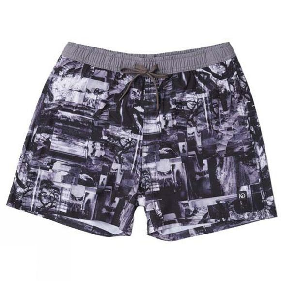Tentree Mens Chitwan Short Dark Denim Multi