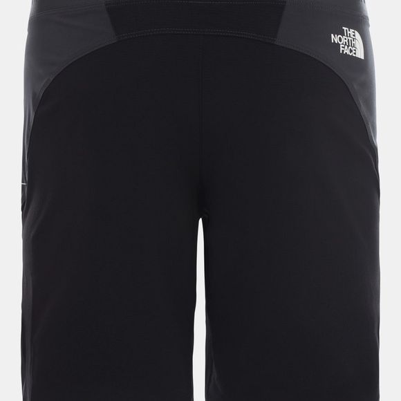 The North Face Mens Impendor Alpine Short Asphalt Grey-TNF Black