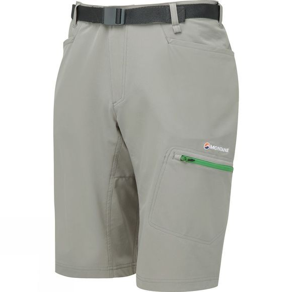 Montane Mens Dyno Stretch Shorts Cloudburst Grey