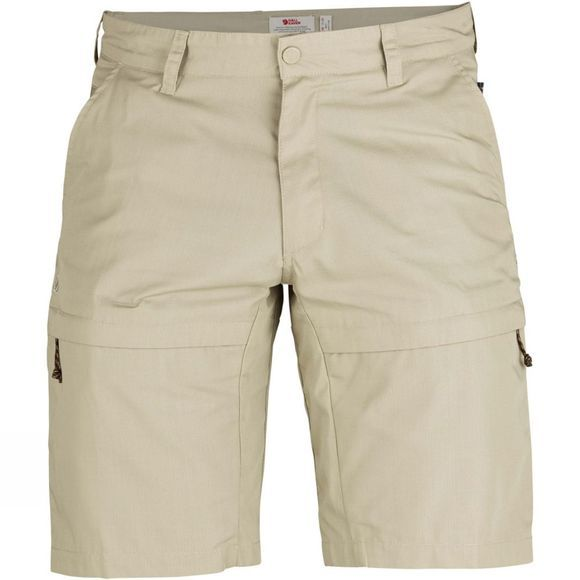 Fjallraven Mens Travellers Shorts Limestone