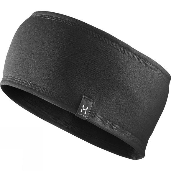 Haglofs Fanatic Headband True Black Solid
