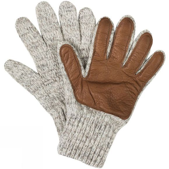 United By Blue Leather Palm Glove Oatmeal/Chesnut