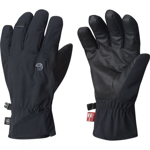 Mountain Hardwear Mens Plasmic OutDry Glove Black