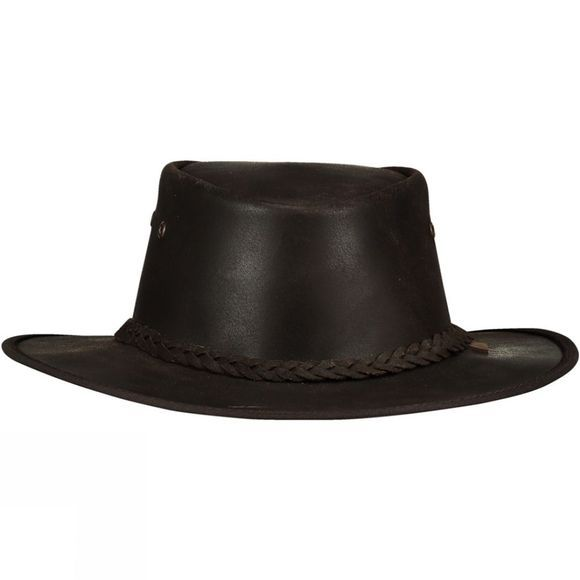 Oiled Leather Hat