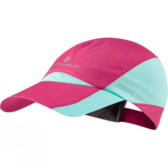 Ronhill Windlite Hat Mid Pink/Turquoise