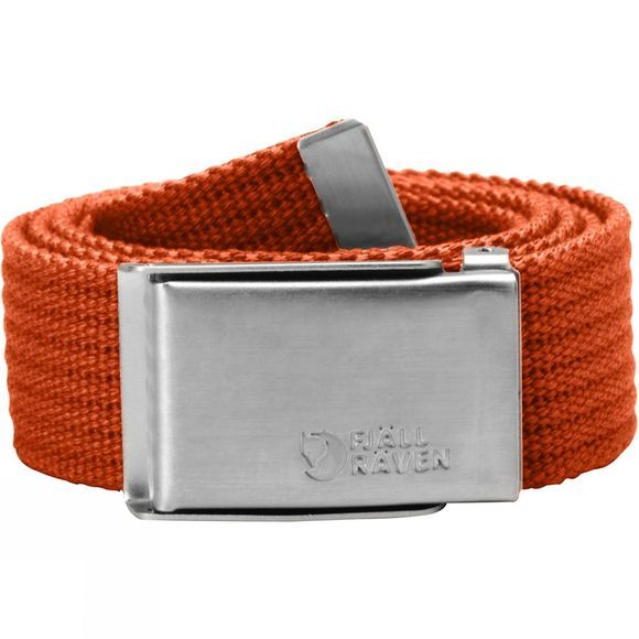 Fjallraven Mens Merano Canvas Belt Flame Orange