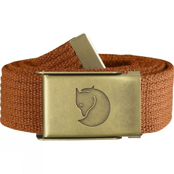 Fjallraven Canvas Brass Belt Autumn Leaf