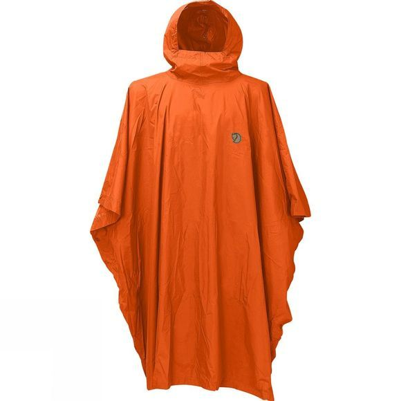Fjallraven Poncho Safety Orange