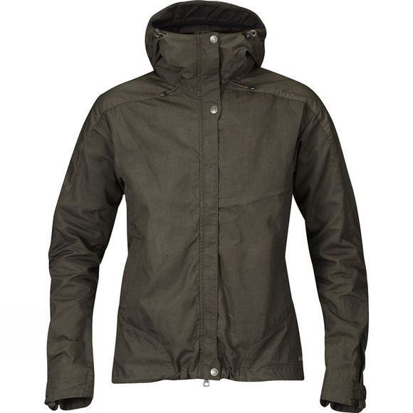 Fjallraven Womens Skogsö Jacket Dark Olive