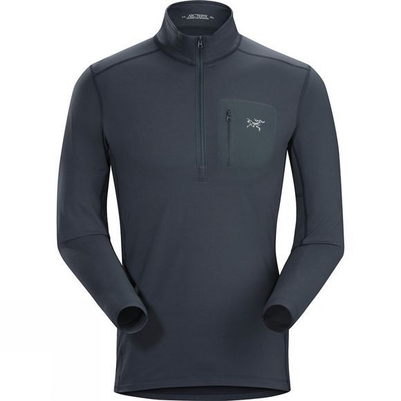 Mens Rho LT Zip Neck
