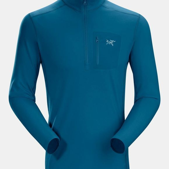 Arc'teryx Mens Rho LT Zip Neck Iliad