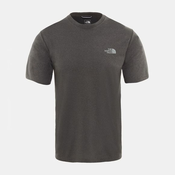 The North Face Men Reaxion Amp Crew T-Shirt TNF Dark Grey Heather
