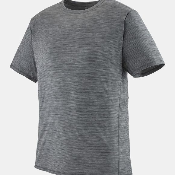 Patagonia Mens Capilene Cool Lightweight T-Shirt Forge Grey