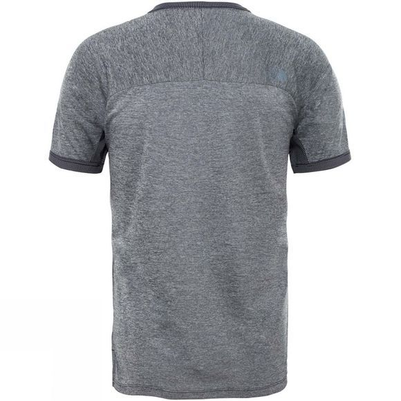 The North Face Mens Ambition Short Sleeve Crew T-Shirt Tnf Black Heather