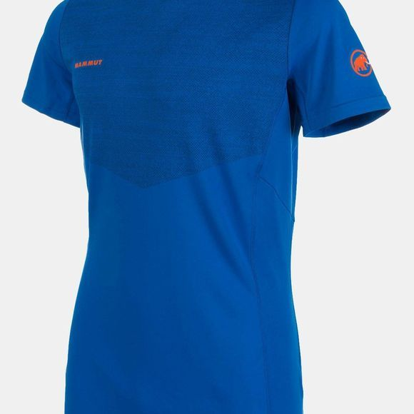 Mammut Mens Moench Light SS Tee Ice