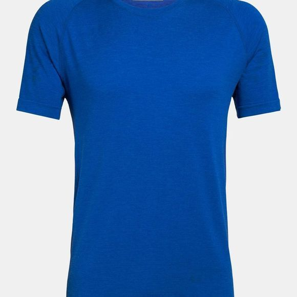 Icebreaker Mens Motion Seamless Crew T-shirt Lapis Heather