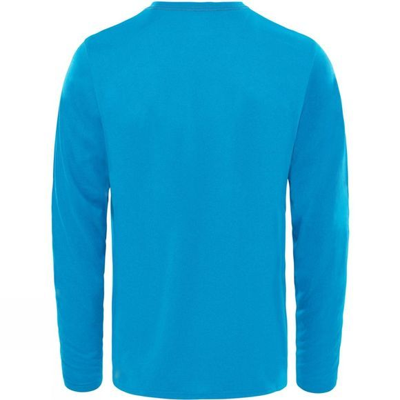 The North Face Men's Reaxion Amp Long Sleeve Crew Brilliant Blue Heather